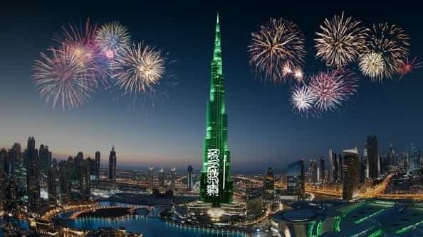 5 Day celebrations in Dubai on 89th Saudi National Day