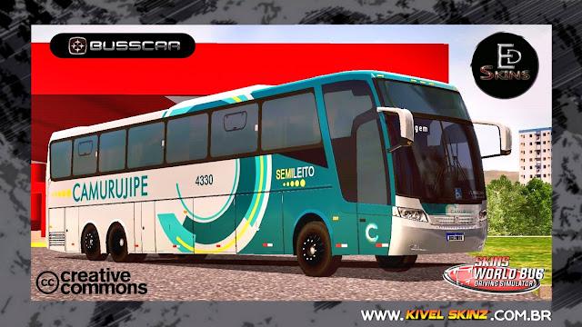 BUSSCAR JUMBUS 360 - VIAÇÃO CAMURUJIPE
