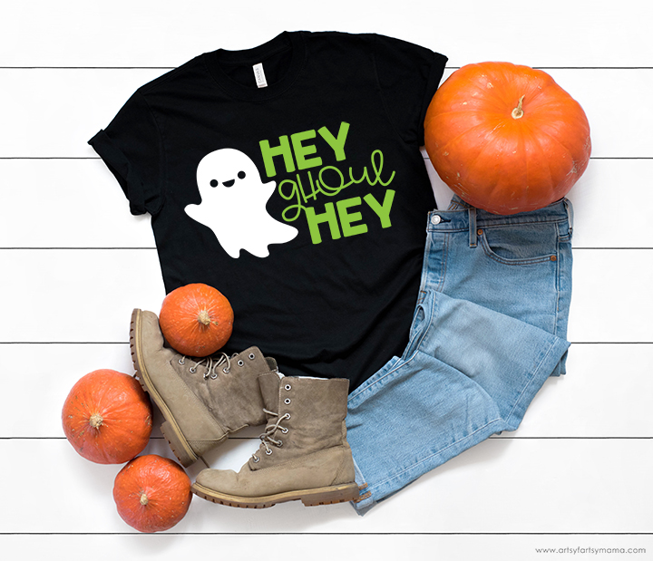 Hey Ghoul Hey Shirt Free Cut File