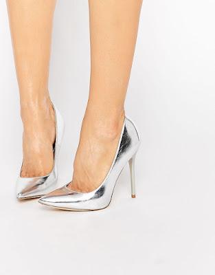 zapatos plateados baratos