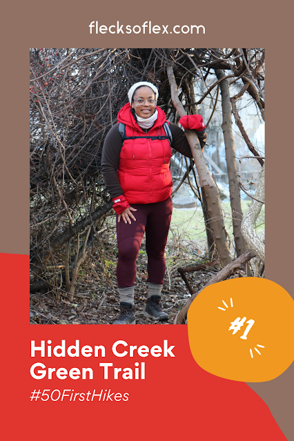 Hidden Creek Green Trail hiker