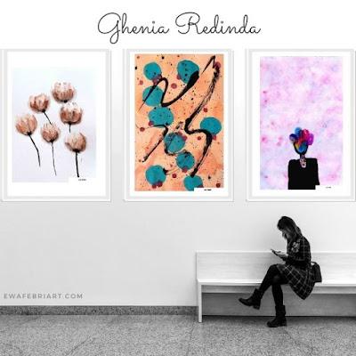 WATERCOLOR PAINTING BY GHENIA REDINDA