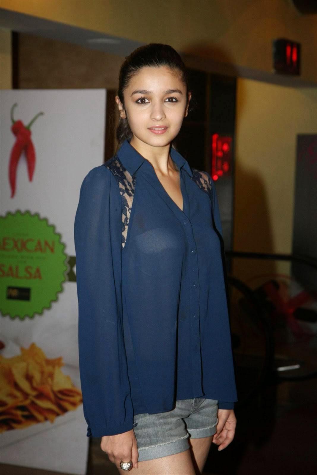 Alia Bhatt in transparent top