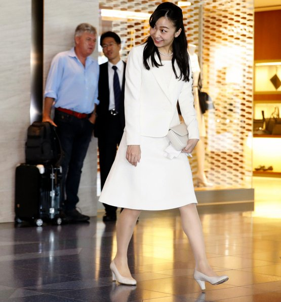 Princess Kako visit to Austria and Hungary, on the occasion of the the 150th anniversary
