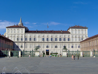 The Royal Palace - Palazzo Reale - in Turin was built by the Savoy family in the 16th century