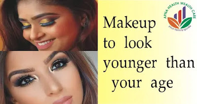 Makeup to look younger than your age