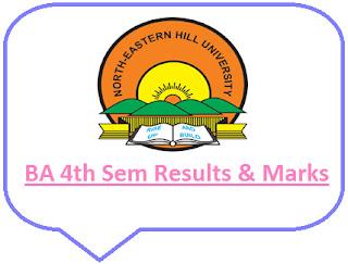 NEHU BA 4th Semester Results 2021