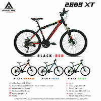 Sepeda Gunung Aviator AT2689XT MTB Mountain Bike