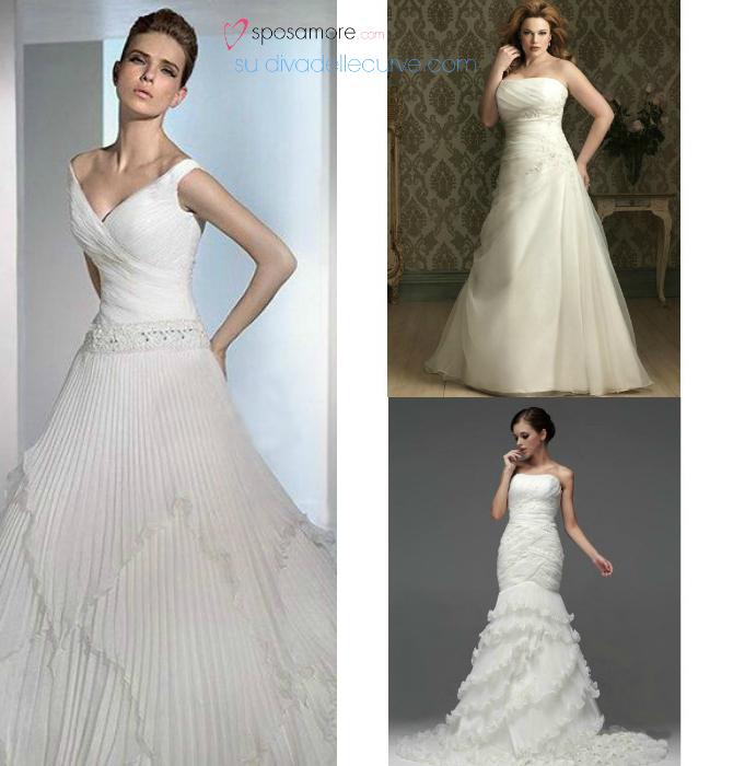 4f50db3ab54f acquistare abiti plus size online su sposamore