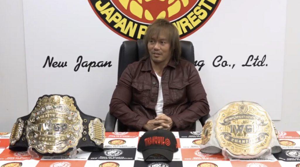 Tetsuya Naito desafia Kota Ibushi para combate no NJPW Wrestle Kingdom 15