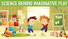 Infographic on Science Behind Imaginative Play #infographic