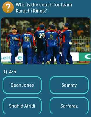 Who is the coach for team Karachi Kings?