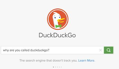 محرك DuckDuckGo