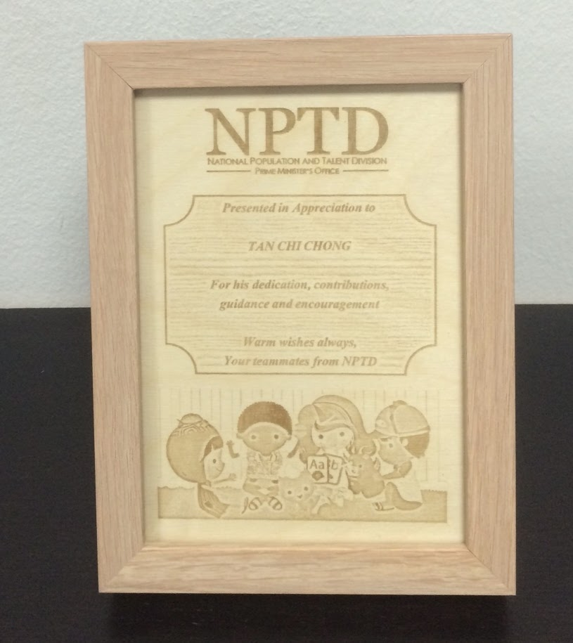 Personalized Laser Photo Engraving on wooden photo frame