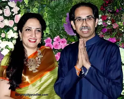 Rashmi Thackeray Husband Uddhav Thackeray