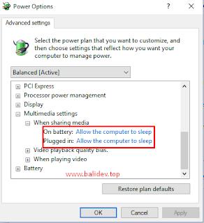 Mengatasi Laptop tidak bisa sleep windows 10