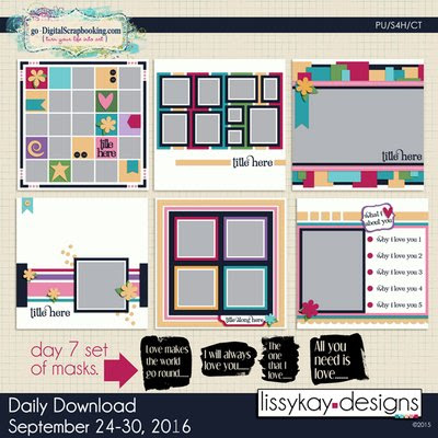 free templates from Lissy Kay
