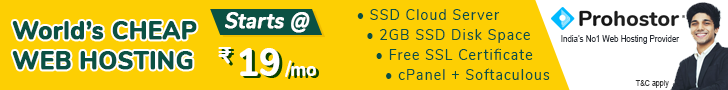 Cheap SSD Web Hosting in India