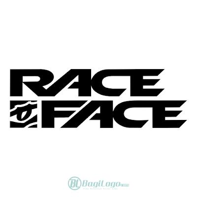 Race Face Logo Vector
