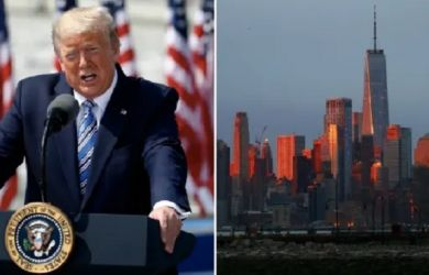 AS Tembus 116 Ribu Kasus Corona, Donald Trump Lockdown New York