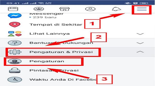 Cara Melihat Email Facebook Orang Lain di HP