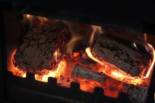 what bark briquettes look like burning