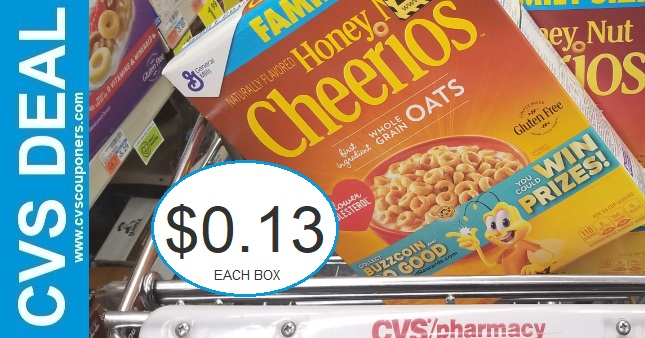 Never Pay Full Price for Cereal at CVS