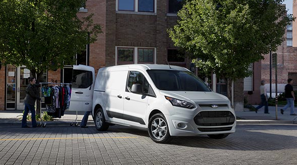 2016 Ford Transit Connect XLT white