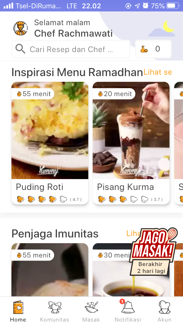 aplikasi resep masakan