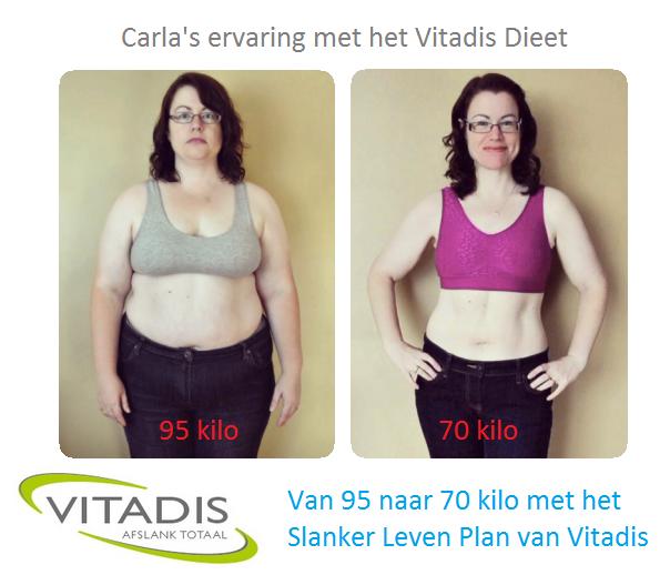 15 kilo afvallen met Vitadis