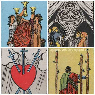 significado das cartas de numero 3 no tarot