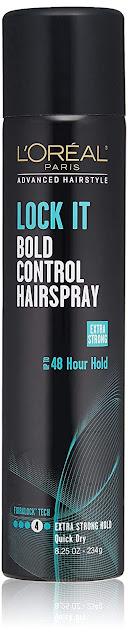 L'Oreal Paris Advanced Hairstyle Lock It Bold Control Hairspray