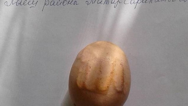 Курица снесла яйцо с надписью «Аллах» в Республике Татарстан
