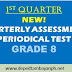 NEW! 1st Periodical Test  for Grade 8, SY 2019-2020