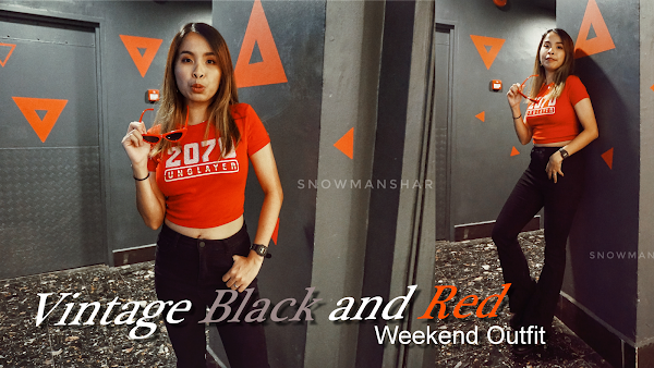 Vintage Red Top Weekend Outfit #95
