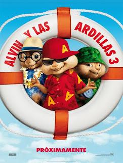 Ver Alvin y las ardillas 3 (2011) Online
