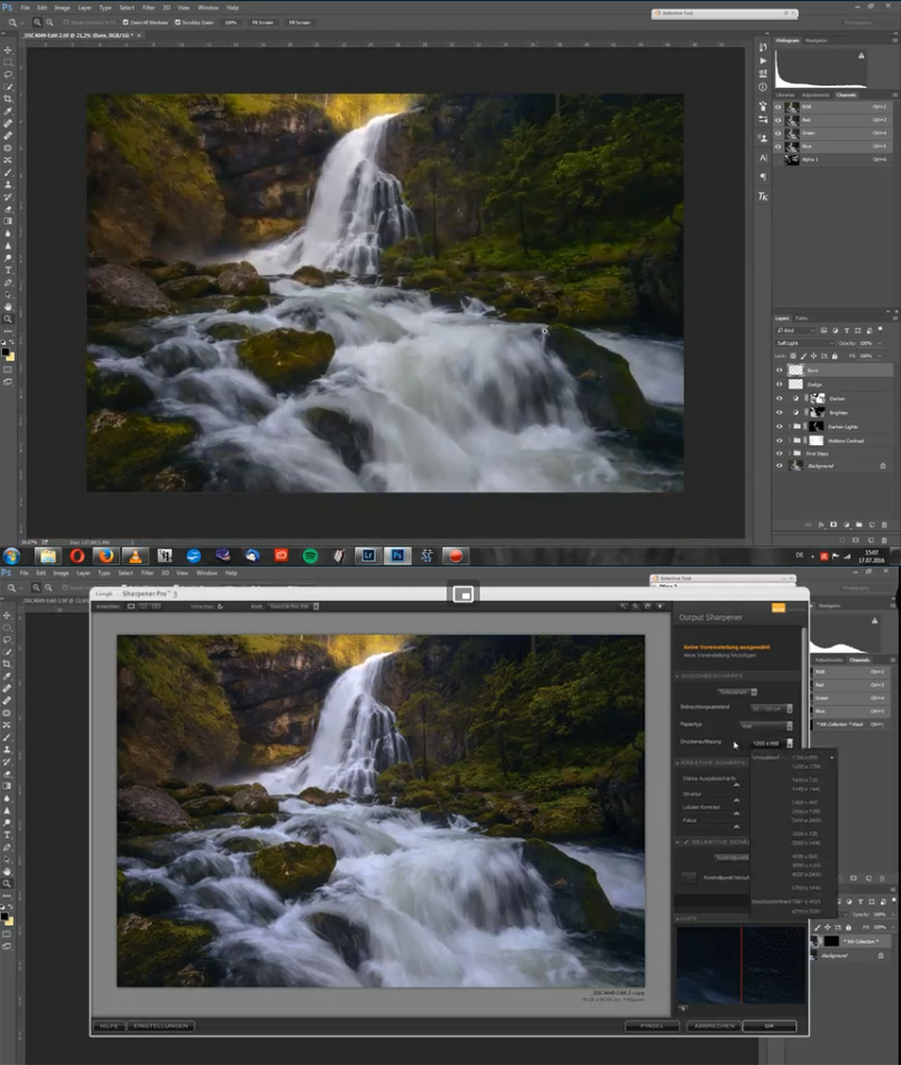 Post Processing Vol. 2 %25E2%2580%2593 Learn a creative Photoshop Workflow for your Landscape and Nature Photography