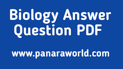 Biology Questions and Answers Free PDF