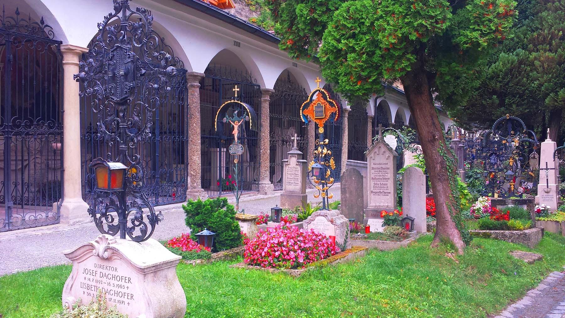 Cemitério São Pedro, Salzburg