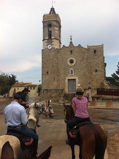 ratsastusmatka, espanja, riitta reissaa