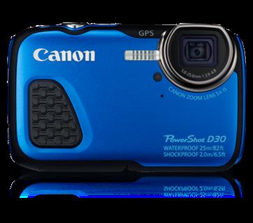 Harga Kamera Canon Powershot D30 Underwater Tahun 2015