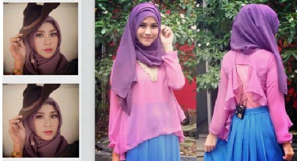 Hijab Tumpuk-tumpuk