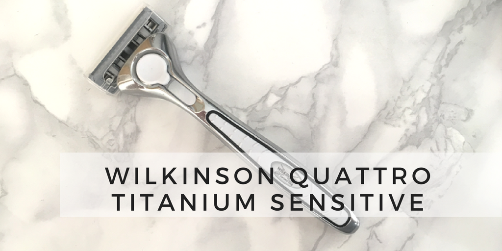 Maszynka Wilkinson quattro titanium sensitive opinia
