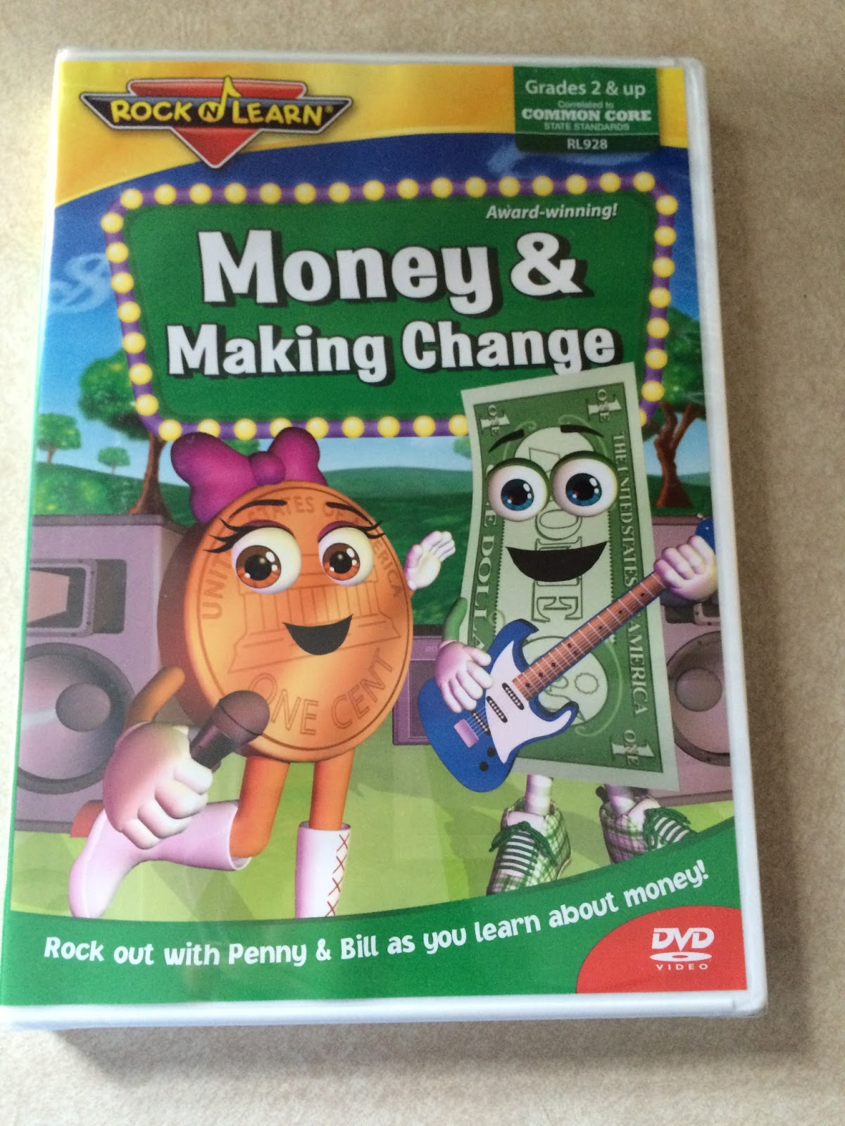 Learning Math With Rock N Learn Review Giveaway