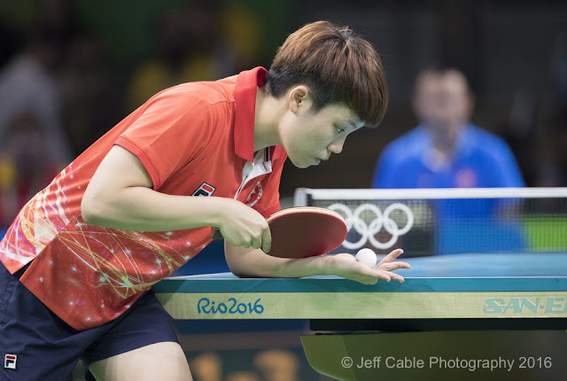 Jeff cable 39 s blog photographing olympic table tennis - Serving in table tennis rules ...