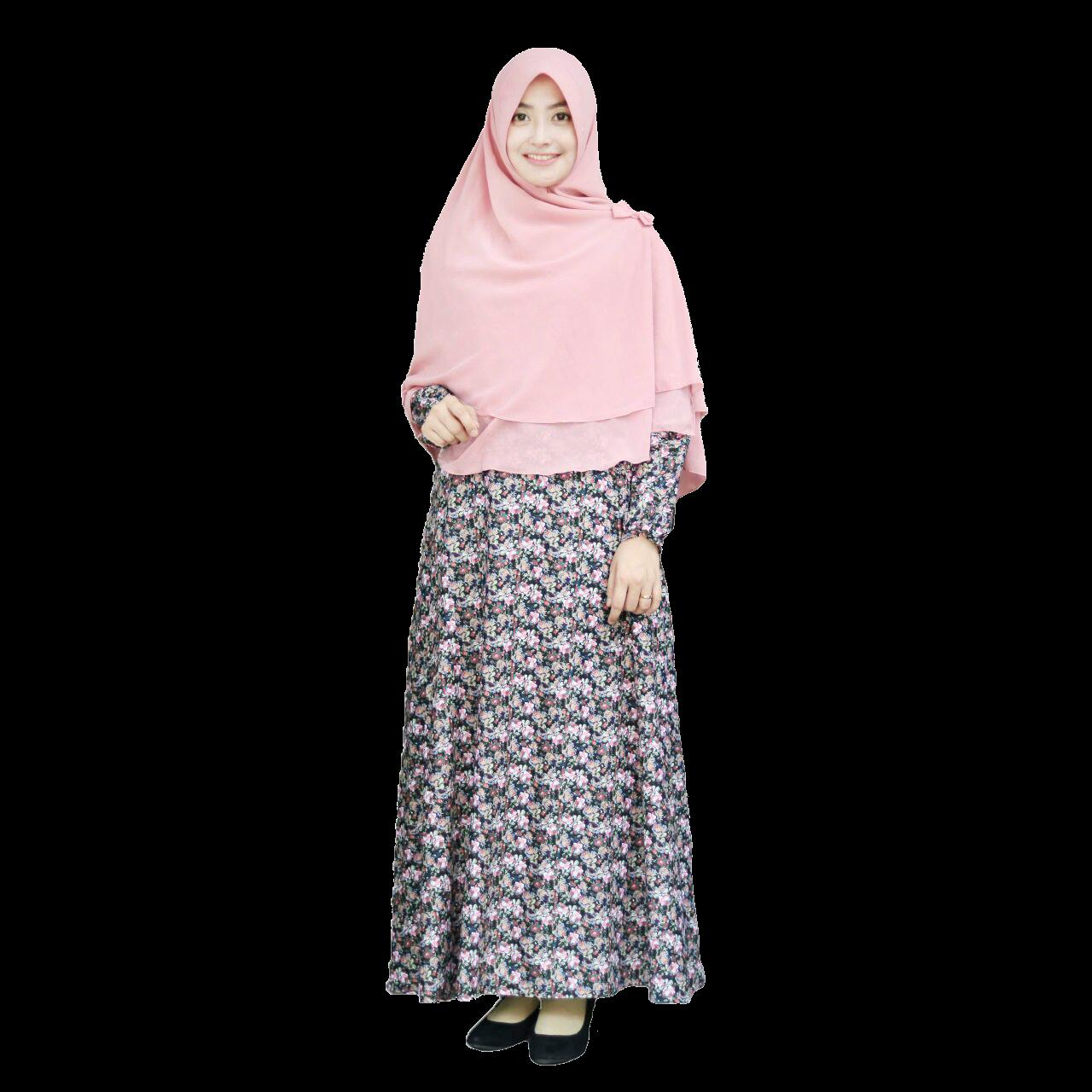 Aini Collection Baju Muslim Gamis Modern Trend Model Baju