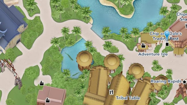 Disney, Chip & Dale, Disney Parks, SHDL, Shanghai Disneyland, 上海迪士尼樂園, 鋼牙, 大鼻, 奇奇, 蒂蒂, 奇奇蒂蒂淘淘舖, Chip & Dale's Trading Post
