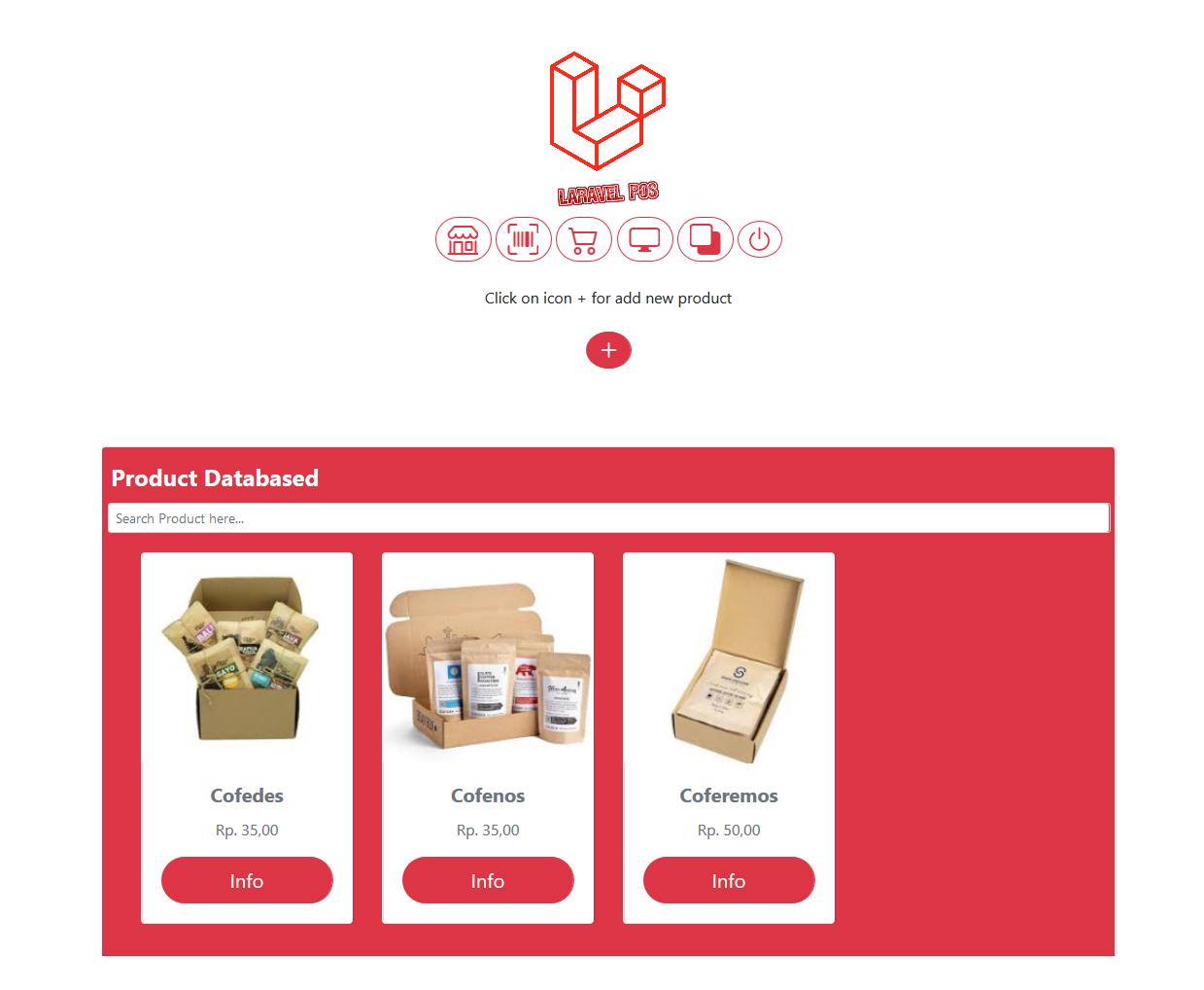 aplikasi toko kasir pejualan