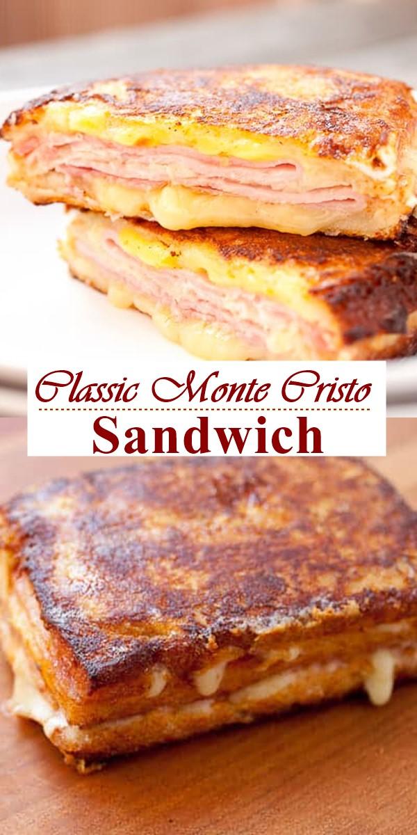 Classic Monte Cristo Sandwich #breakfastideas