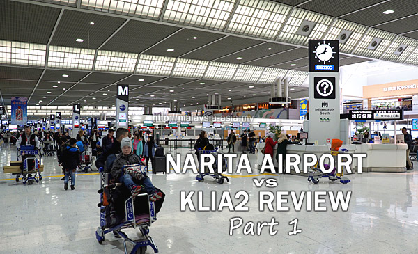 KLIA2 vs Narita Airport Review